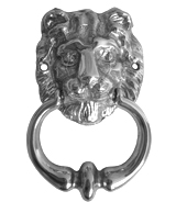 Kołatka - Lion Small Silver