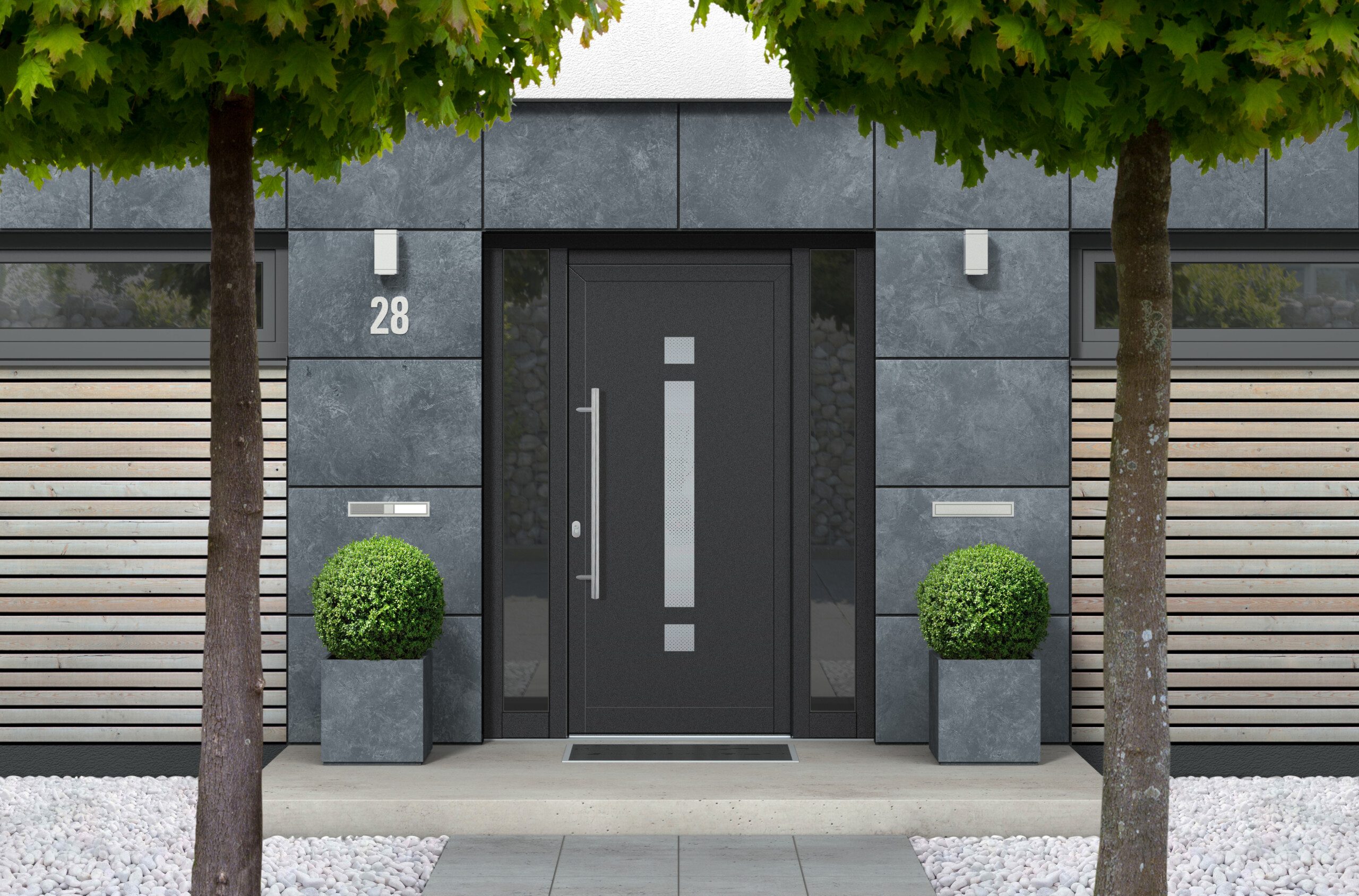 Modele drzwi aluminiowe